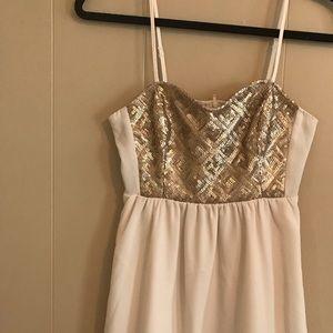 Cute sequins dress
